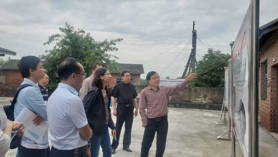 国家工业遗产认定专家组到东源井进行现场核查