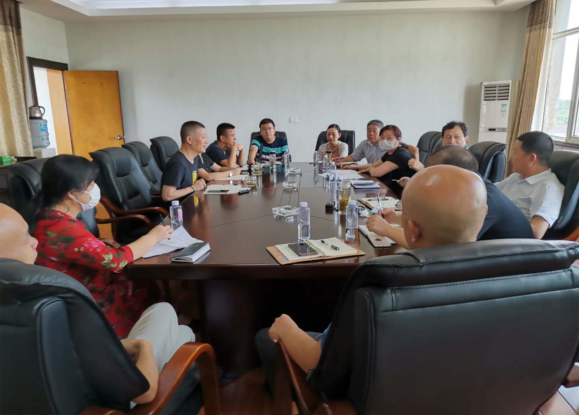 湖北省工信厅领导莅临应城公司调研指导工作