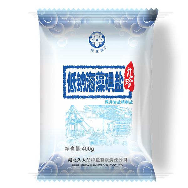 桂花盐牌低钠海藻碘盐