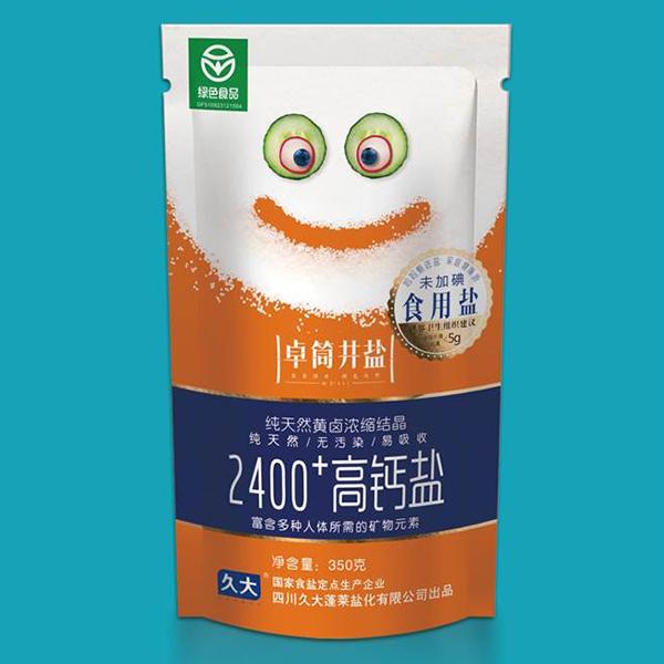 卓筒井盐2400+高钙盐未加碘盐(黄瓜笑脸)